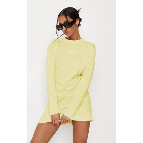 Robe T-Shirt Basique à Inscription  - Missguided - Modalova
