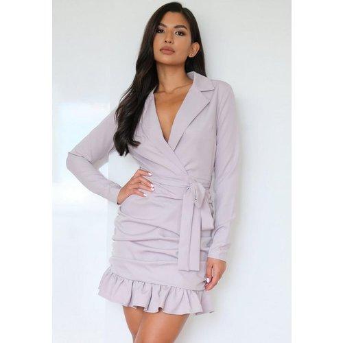 Robe blazer froncée cache-coeur - Missguided - Modalova