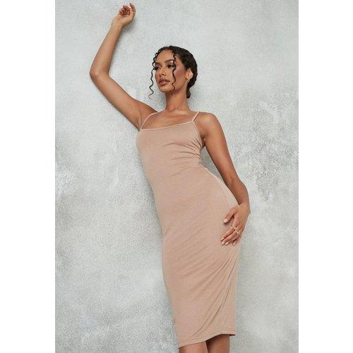 Robe Caraco Mi-Longue en Jersey  - Missguided - Modalova