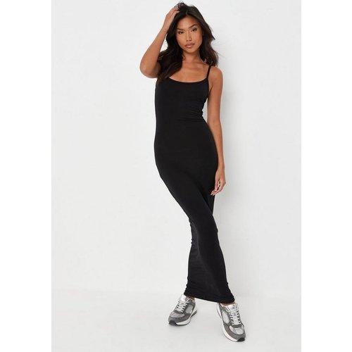 Robe Mi-Longue Basique Style Caraco - Missguided - Modalova