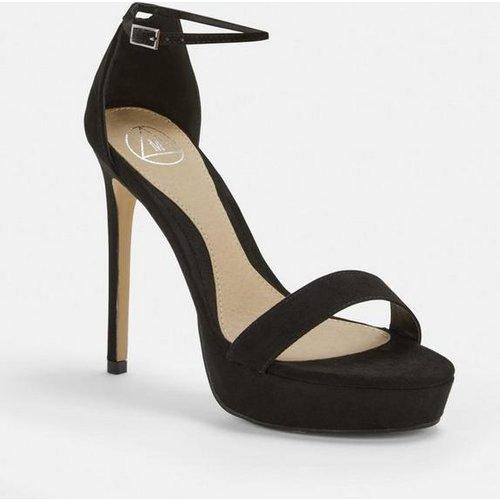 Sandales à talons avec plateforme - Missguided - Modalova