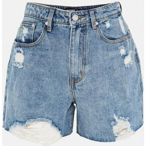 Short en jean déchiré évasé - Missguided - Modalova