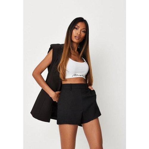 Short noir style tailleur, Noir - Missguided - Modalova