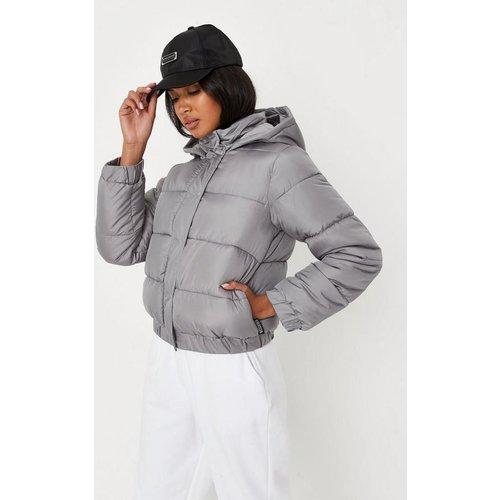 Veste doudoune à capuche - Missguided - Modalova