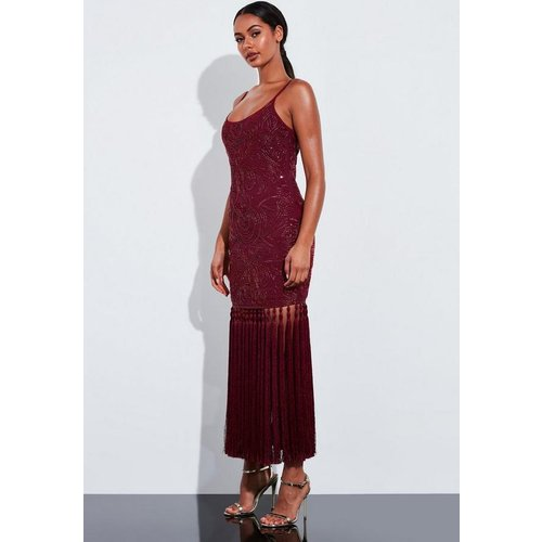 Robe longue à paillettes Peace + Love - Missguided - Modalova