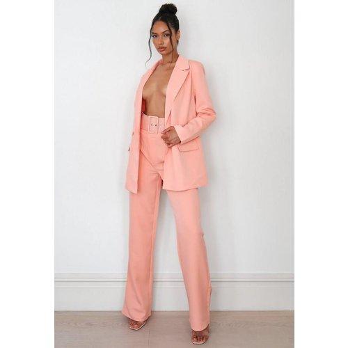 Pantalon évasé style tailleur - Missguided - Modalova