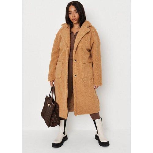 Manteau oversize long grandes tailles - Missguided - Modalova