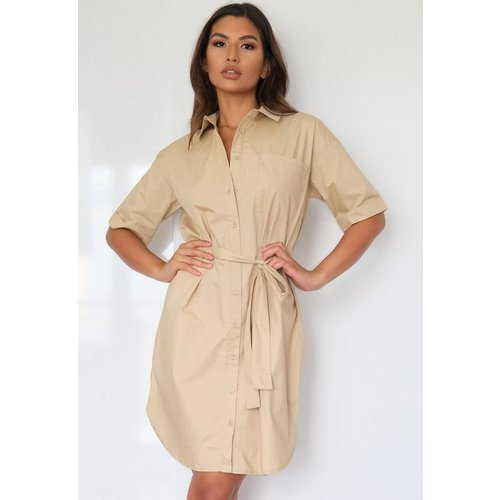 Robe chemise avec ceinture tall - Missguided - Modalova
