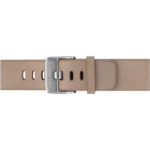 Bracelet de Montre Cuir Argenté Sandstone 20 mm - PAUL HEWITT - Modalova