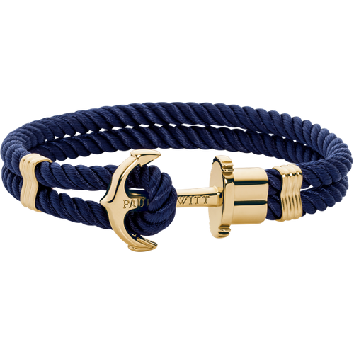 Bracelet Ancre Phrep Or Nylon Marine - Paul Hewitt - Modalova