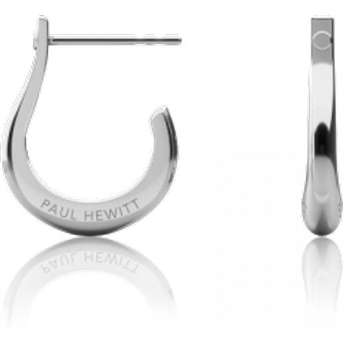 Boucles d'oreilles Shackle Hoop Argenté - PAUL HEWITT - Modalova