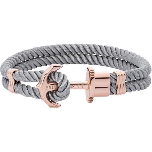 Bracelet Ancre Phrep Or Nylon Gris - PAUL HEWITT - Modalova