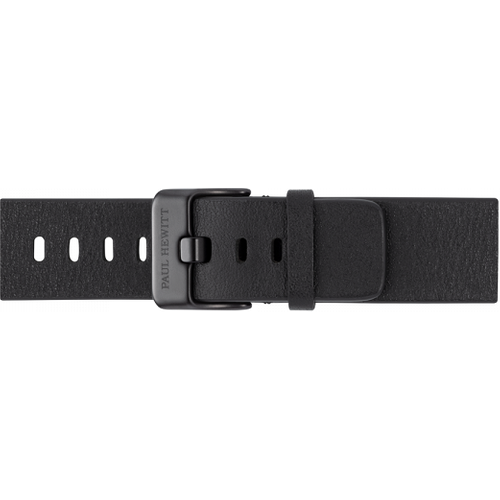 Bracelet de Montre Cuir Pure Black 20 mm - Paul Hewitt - Modalova