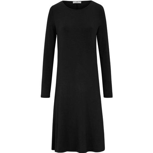 La robe jersey, manches longues, ligne trapèze taille 48 - Peter Hahn - Modalova