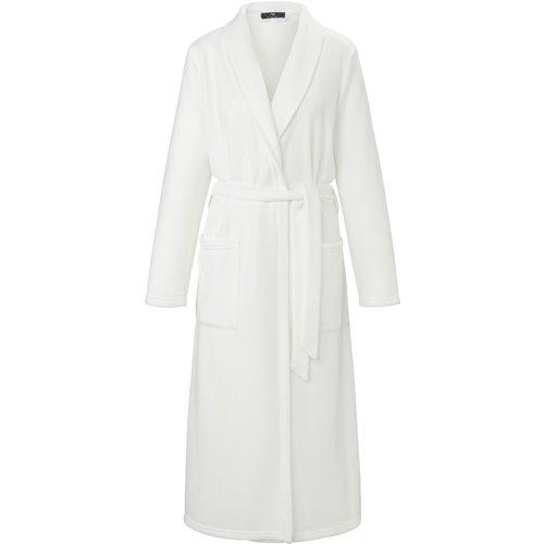 La robe chambre polaire à col châle taille 46 - Peter Hahn - Modalova