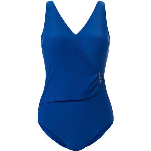 Le maillot bain semi-bustier style croisé taille 46 - Naturana - Modalova
