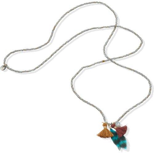 Le sautoir avec perles verre er pendentifs - Lua Accessoires - Modalova