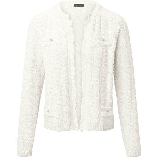 Le cardigan MYBC blanc taille 46 - MYBC - Modalova