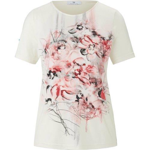 Le T-shirt motif fleuri taille 42 - mayfair by Peter Hahn - Modalova