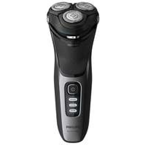 HALF PRICE! Philips Face Shavers Shaver Series 3000 Wet and Dry Shaver Black S3231/52