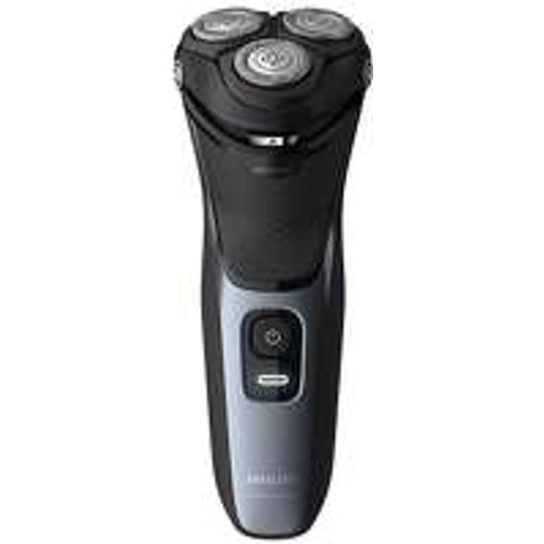 Save 53% - Philips Face Shavers Shaver Series 3000 Wet and Dry Shaver Blue S3133/51