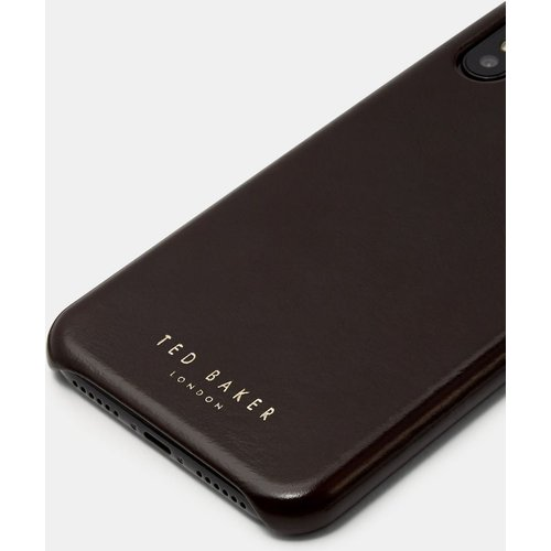 Coque En Cuir Pour Iphone X/xs - Ted Baker - Modalova