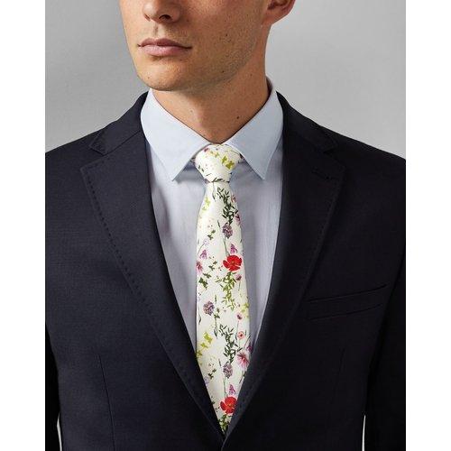 Cravate En Soie À Imprimé Floral - Ted Baker - Modalova