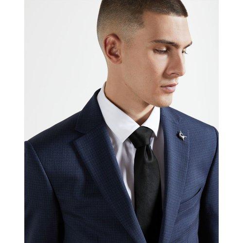 Cravate Sergé En Soie - Ted Baker - Modalova