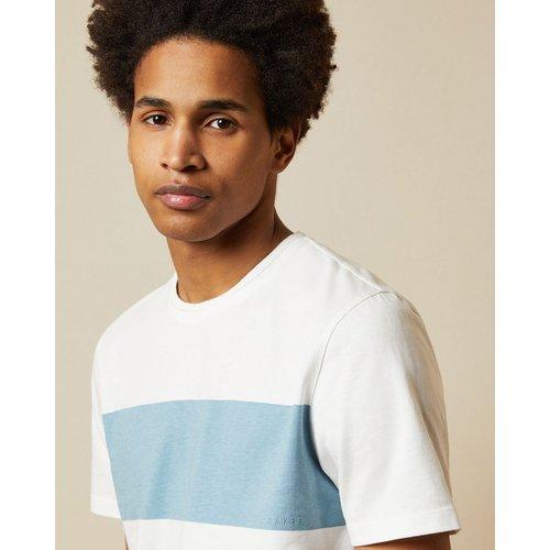 T Shirt En Coton À Rayure - Ted Baker - Modalova