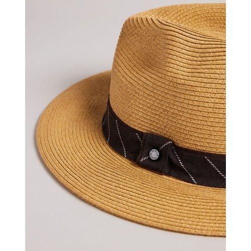 Chapeau Panama En Paille - Ted Baker - Modalova