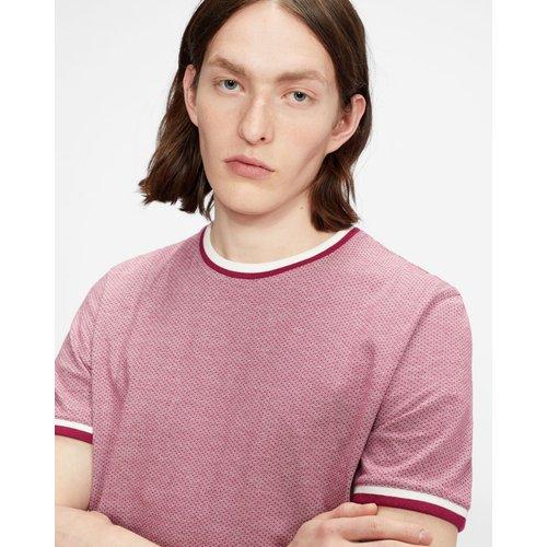 Tee-shirt En Coton Texturé - Ted Baker - Modalova