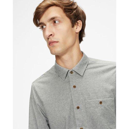 Ls Jersey Shirt - Ted Baker - Modalova