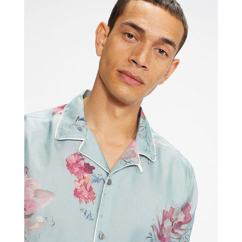 Ss All Over Printed Floral Shirt - Ted Baker - Modalova