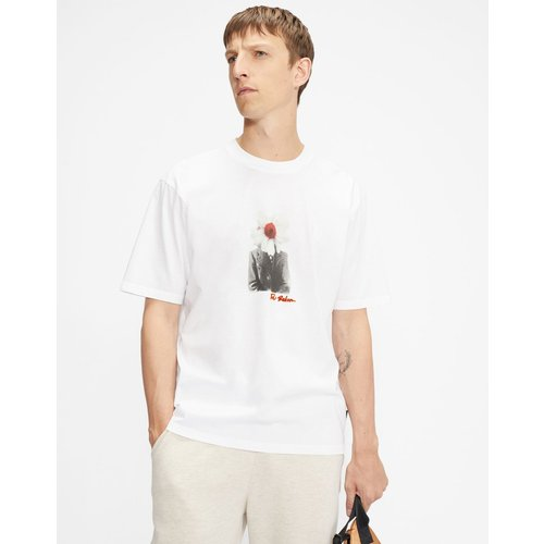 Oversized Flower Face Graphic T-shirt - Ted Baker - Modalova