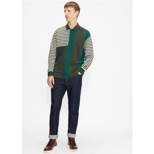 Long Sleeved Striped Rugby Top - Ted Baker - Modalova