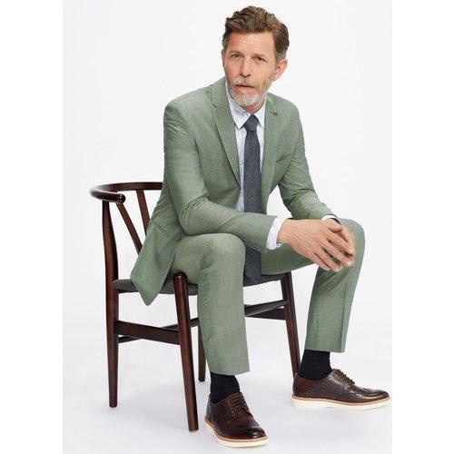 Pantalon De Costume Uni Coupe Slim - Ted Baker - Modalova