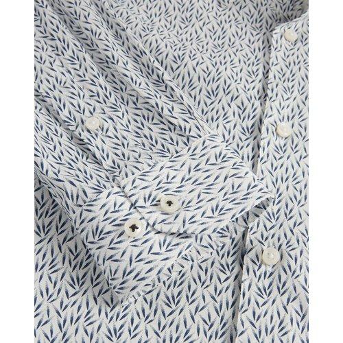 Chemise Coupe Skinny Imprimée Feuilles - Ted Baker - Modalova