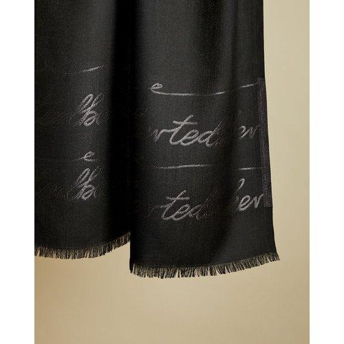 Foulard Long En Lurex Avec Logo - Ted Baker - Modalova