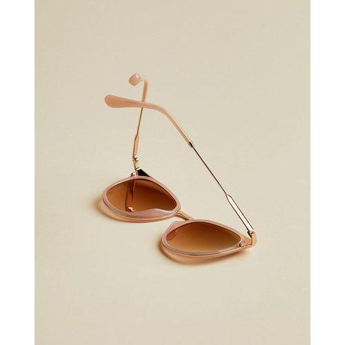 Lunettes De Soleil Ronde - Ted Baker - Modalova