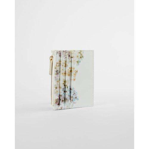 Porte-cartes En Cuir Imprimé Vanilla - Ted Baker - Modalova