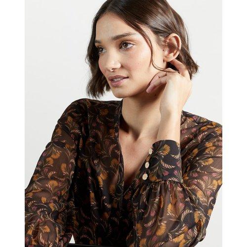 Robe Longue Imprimée - Ted Baker - Modalova