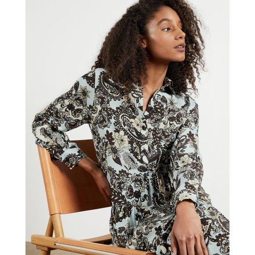 Robe Longue Imprimé Cachemire - Ted Baker - Modalova
