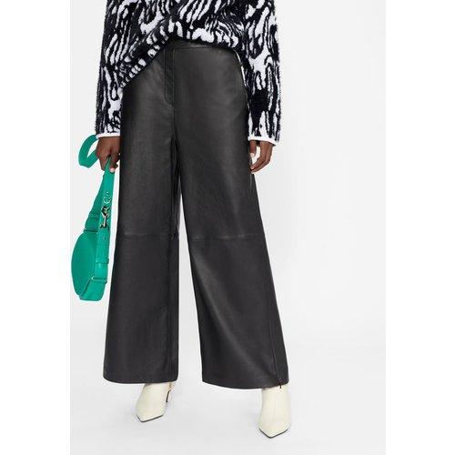 Wide Leg Leather Trousers - Ted Baker - Modalova