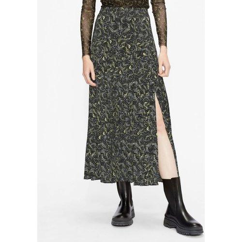 Printed Knife Pleat Midi Skirt With Split - Ted Baker - Modalova