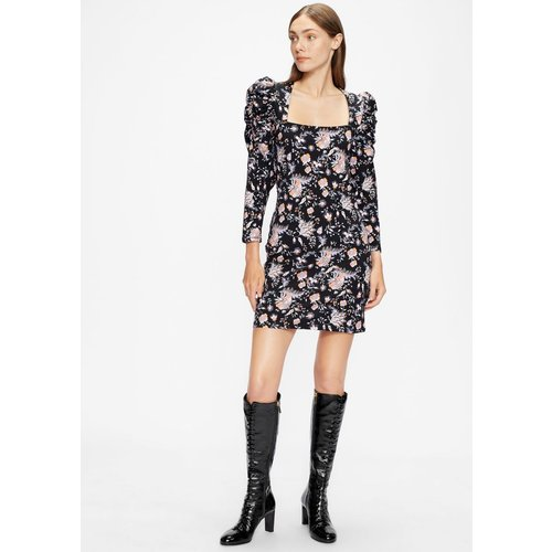 Patent Leather Lace Up Knee Boot - Ted Baker - Modalova