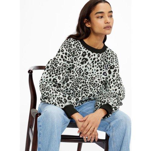 Leopard Jersey Sweat - Ted Baker - Modalova