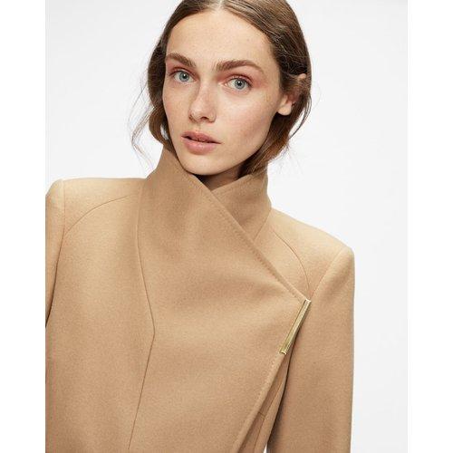 Long Length Wool Wrap Coat - Ted Baker - Modalova