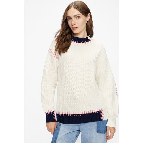 Pull En Maille Coutures Apparentes - Ted Baker - Modalova