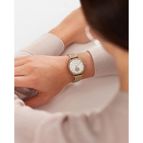 Bkphhf106 Two Tone Bracelet Strap Watch - Ted Baker - Modalova