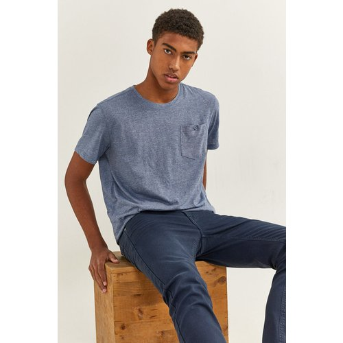 T-shirt texturé poche springfield - springfield - Modalova
